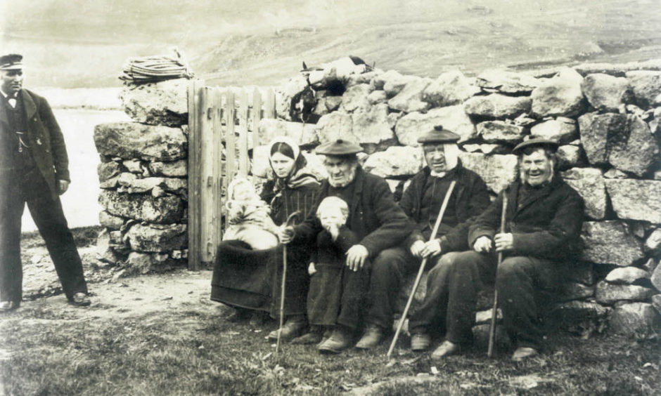 The residents of St Kilda left their homes for the last time in 1930.