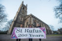 St Rufus Church in Keith begin celebrations to mark 200 years of its existence. Pictured, committee members: Joan MacBeth,Nicola Smith, Ann Hutton.