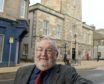 Councillor Tom Heggie outside the Nairn Courthouse. Picture by Sandy McCook.