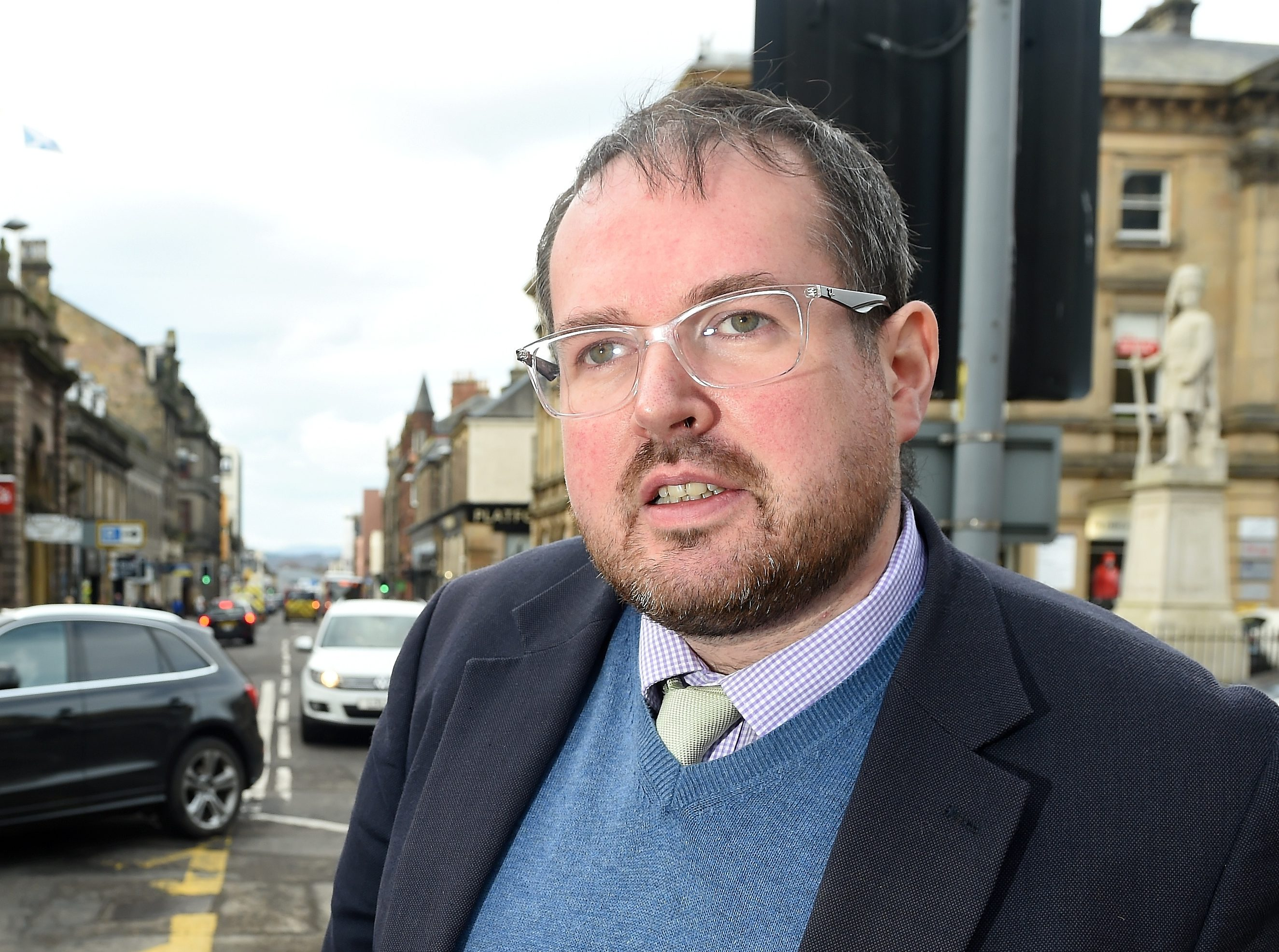 Highland Councillor Ron MacWilliam