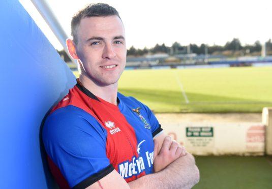 Former Caley Thistle midfielder Darren McCauley.