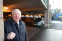 Mike Smith of Inverness BID at the Black carpark in Rose Street, Inverness.