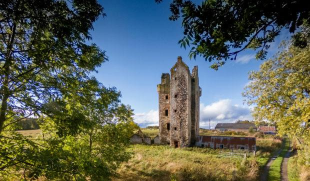 Fairburn Tower near Muir of Ord.