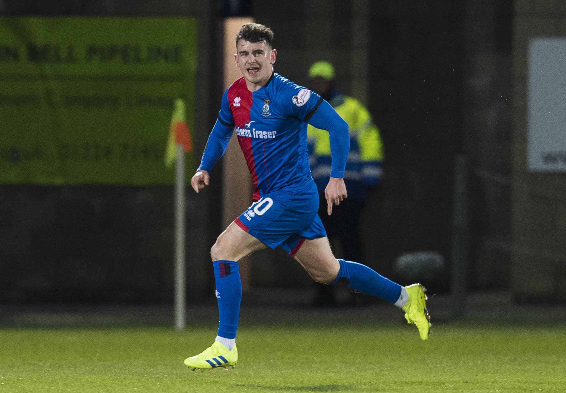 Aaron Doran scored his sixth Highland derby goal on Monday.
