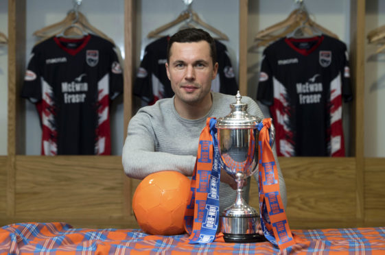 12/02/19 GLOBAL ENERGY ARENA - DINGWALL Ross County's Don Cowie previews his side's Irn-Bru cup semi-final clash against East Fife on Friday