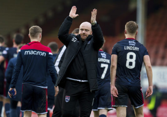 23/02/19 LADBROKES CHAMPIONSHIP PARTICK THISTLE v ROSS COUNTY (2-4) THE ENERGY CHECK STADIUM AT FIRHILL - GLASGOW Ross County co-manager Steven Ferguson at full time