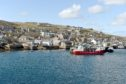 Stromness harbour in Orkney.