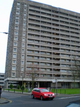 Thistle Court in Aberdeen