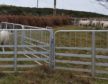 Picture of the stolen fencing