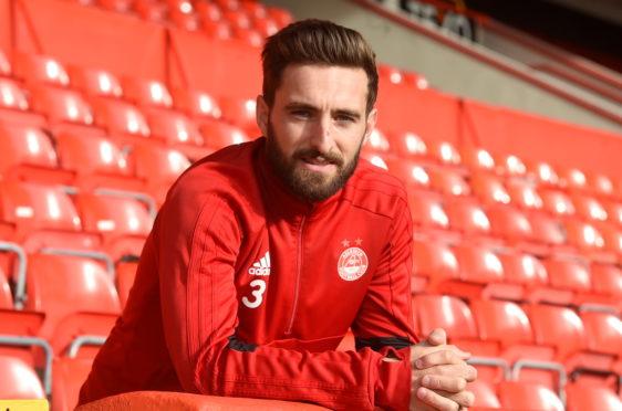 Aberdeen captain Graeme Shinnie.