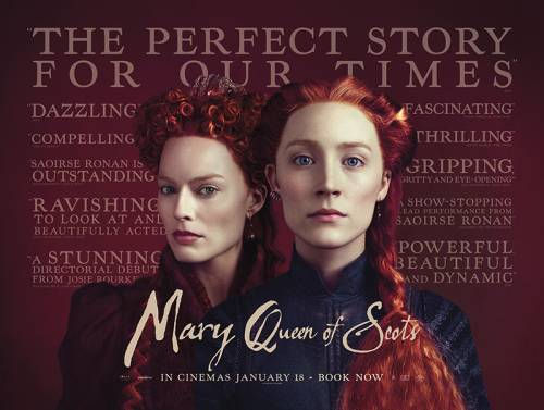 Mary Queen on Scots movie poster
