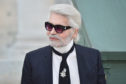 Karl Lagerfeld walks the runway during the Chanel Haute Couture Fall Winter 2018/2019.