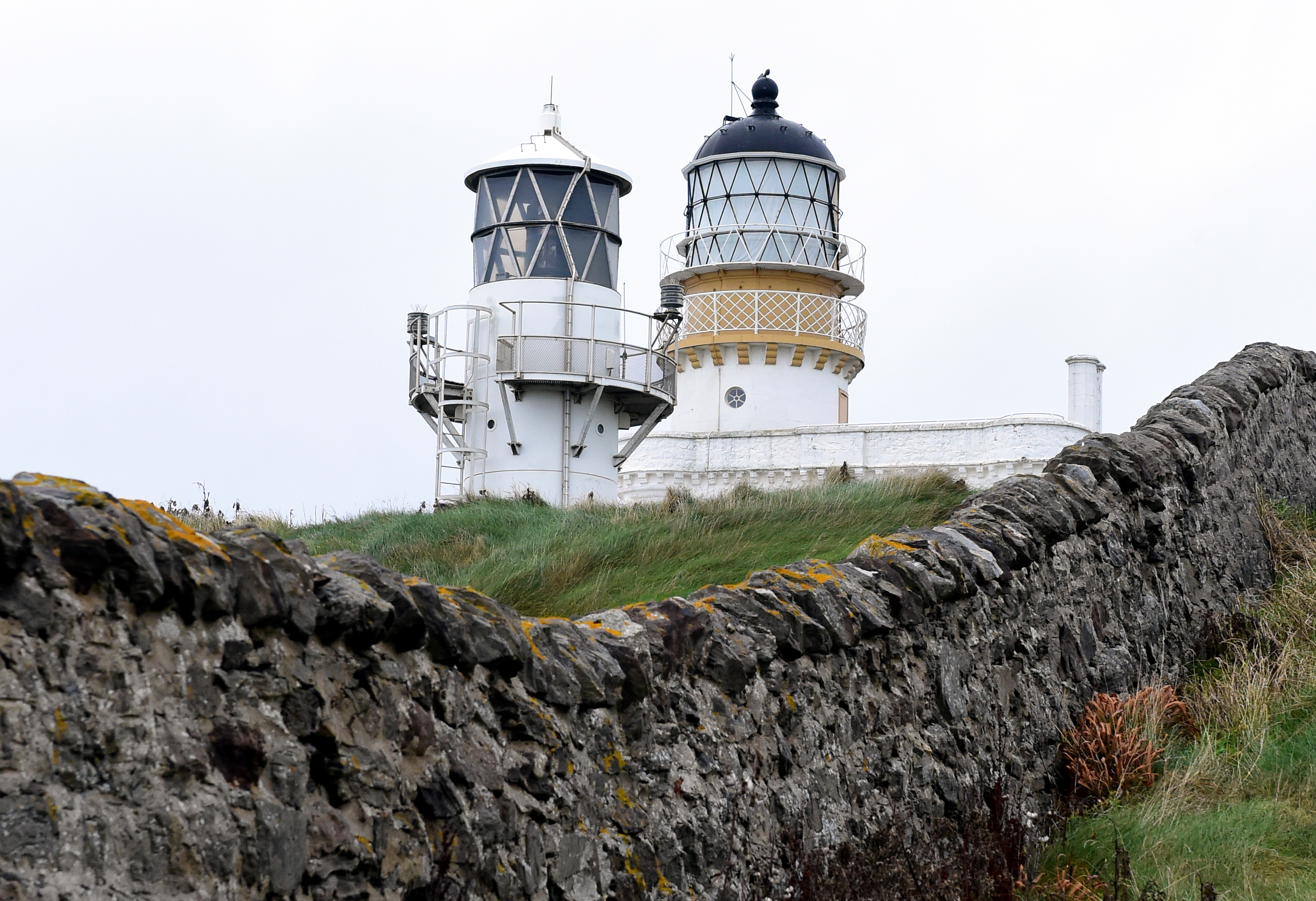 The Museum of Scottish Lighthouses and Kinnaird Head Lighthouse, Fraserburgh.