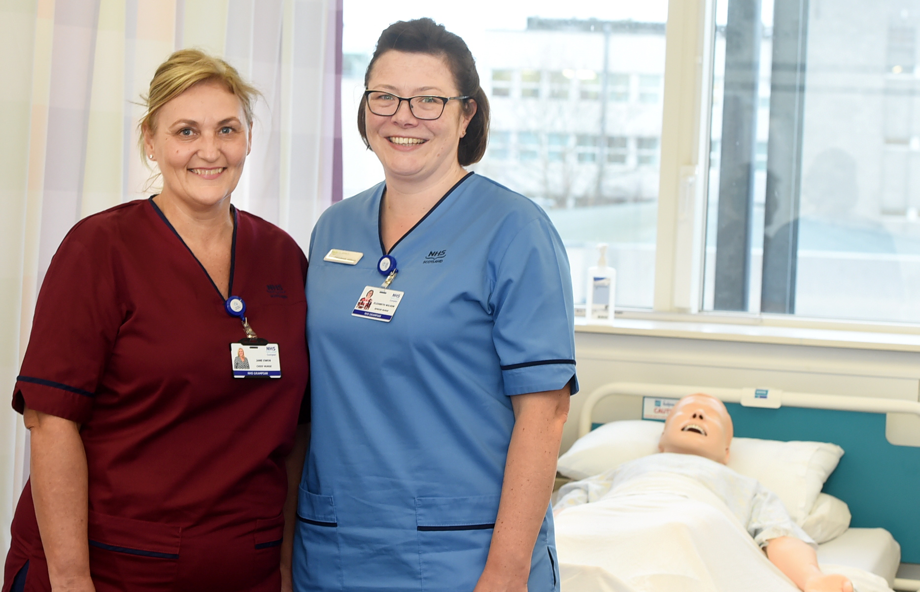 NHS Grampian has hailed the success of its latest Australian recruitment drive. Pictured are Jane Ewen, left, and Elizabeth Wilson, two of the senior nurses who went on the trip.