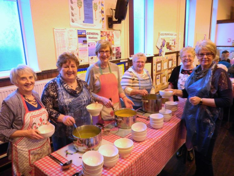 The Souper Sunday scheme is helping people with HIV and AIDS.