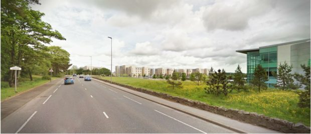 Artist's impression of the flats