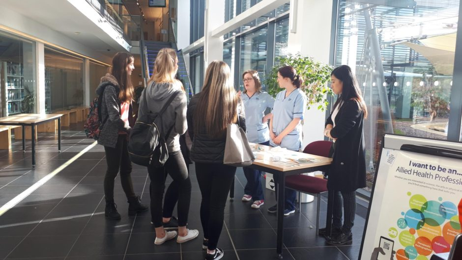 A Careers in Health event seeks to encourage more people into the sector in the Highlands.