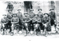 1st Battalion Gordon Highlanders Warrant Officers at Arras.