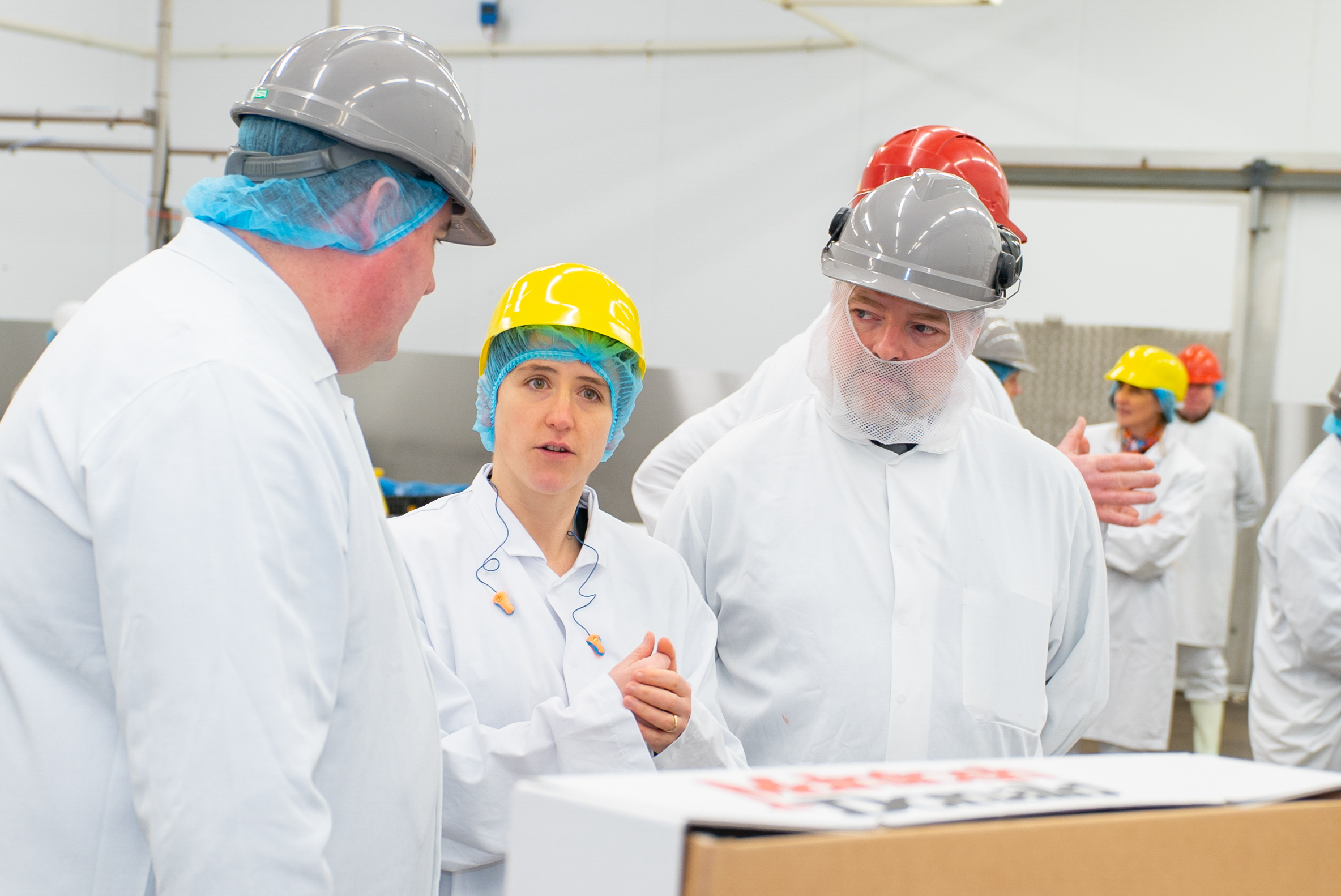 Mairi Gougeon MSP visiting Mcintosh Donald, Kepak Group in Portlethen