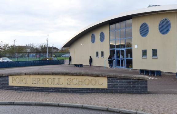 Port Erroll School, Cruden Bay.