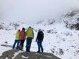Nathalie, Marc, Graeme of Scottish Avalanche Information Service (SAIS)