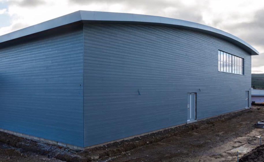 Banchory Sports Village is taking shape.