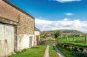Farm buildings An old barn in Cumbria on a sunny day.