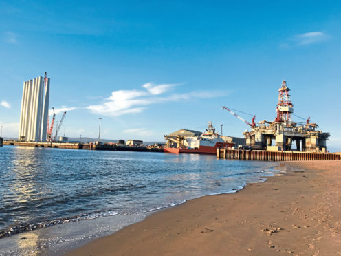 Global Energy Group, which is based in Inverness, wants to add more than 800 feet of new quayside to its Nigg Energy Park site.