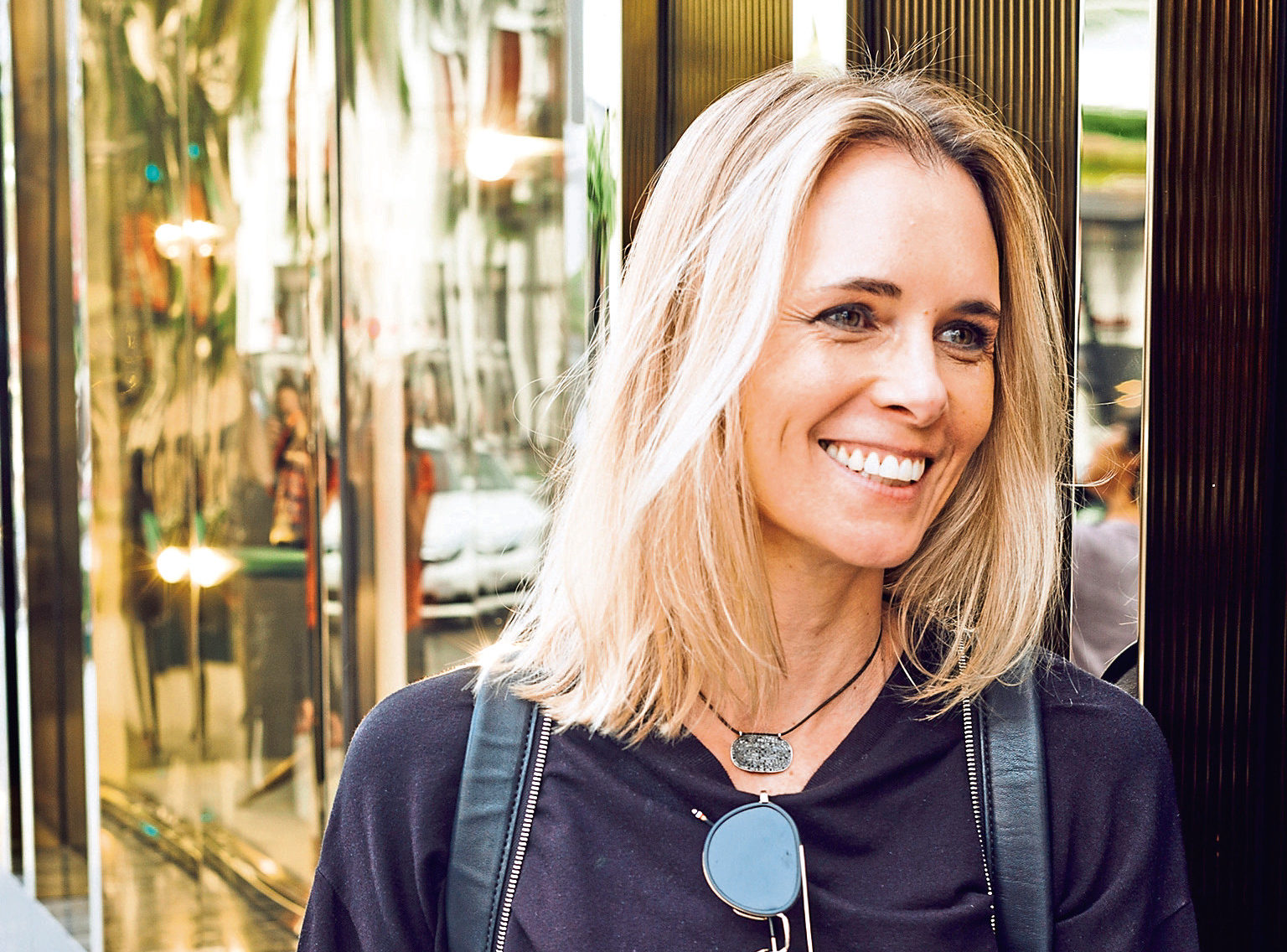 Stefani Grosse, CEO and founder of active wear range Monreal London