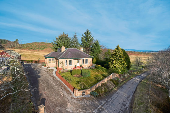 Glaick, Corry of Ardnagrask, near Muir of Ord is on the market at offers over £410,000.