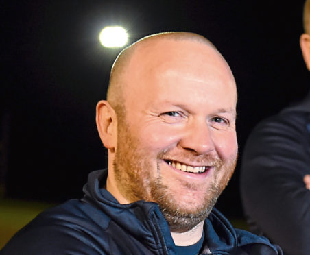 Gordonians RFC  head coach Ryan Morrice