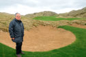Martin Hawtree at Trump International Golf Course  Picture by Colin Rennie