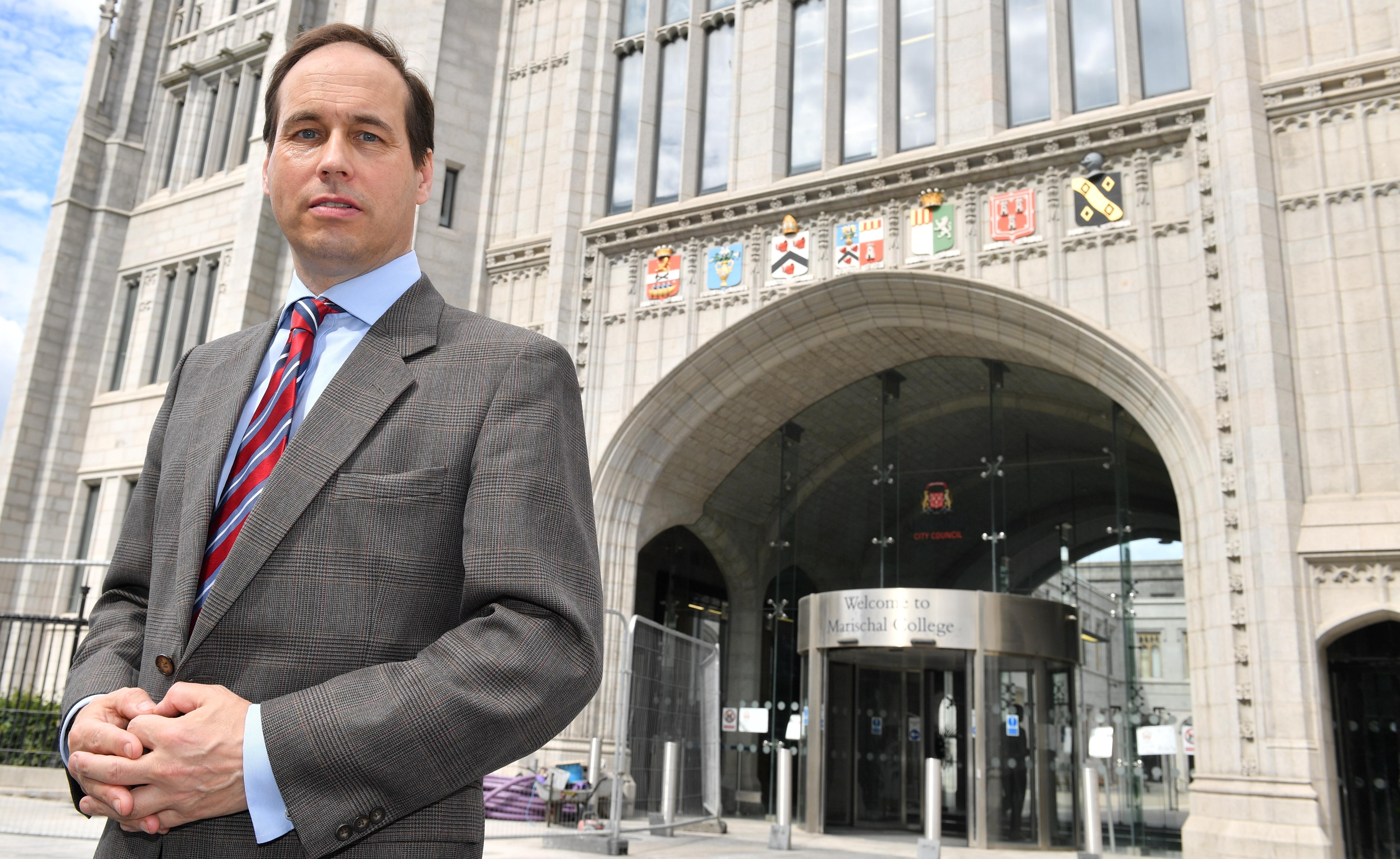 """Martin Greig said teaching staff are under """"immense"""" pressure"""
