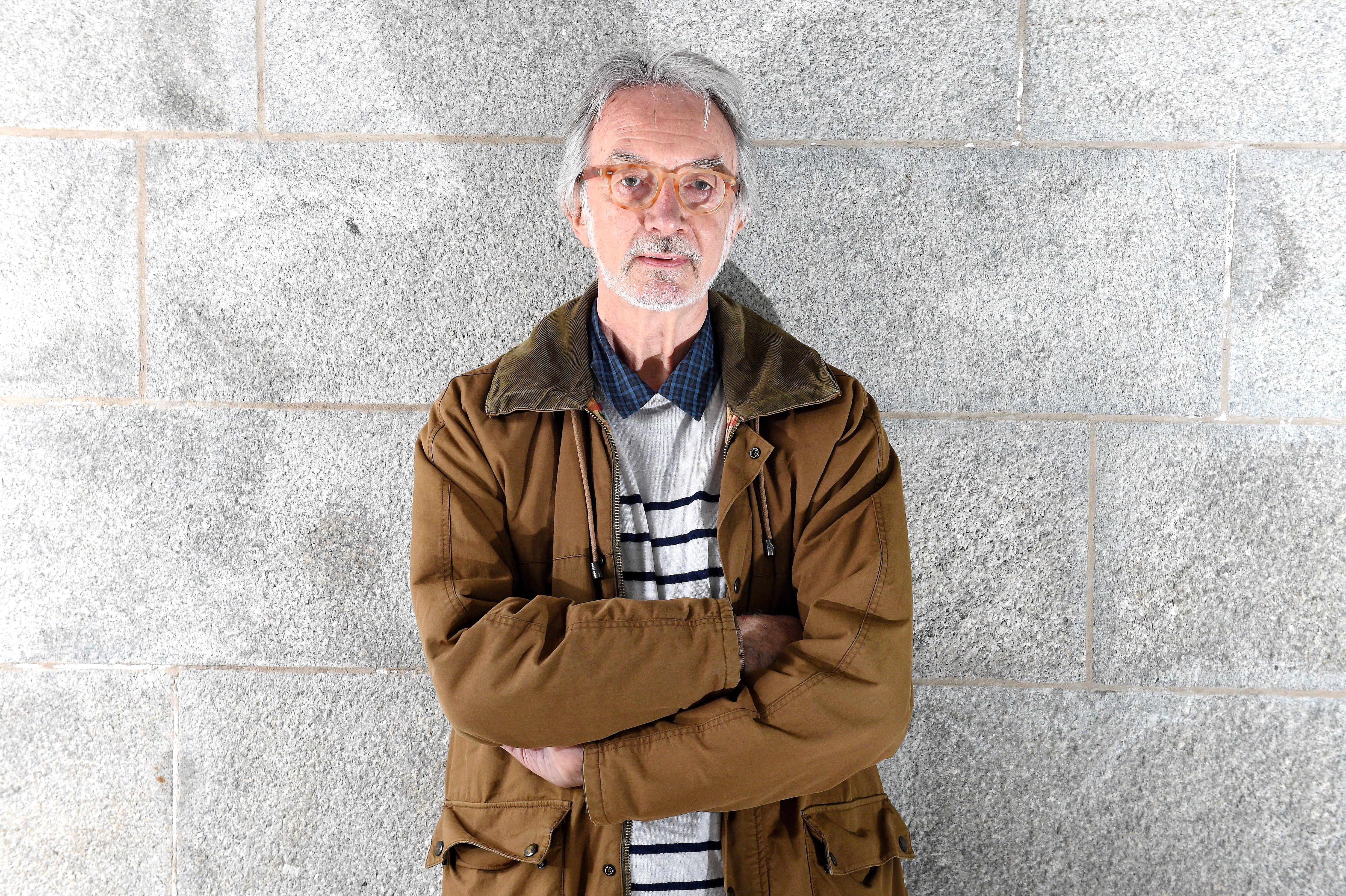 Jim Fiddes, author of The Granite Men