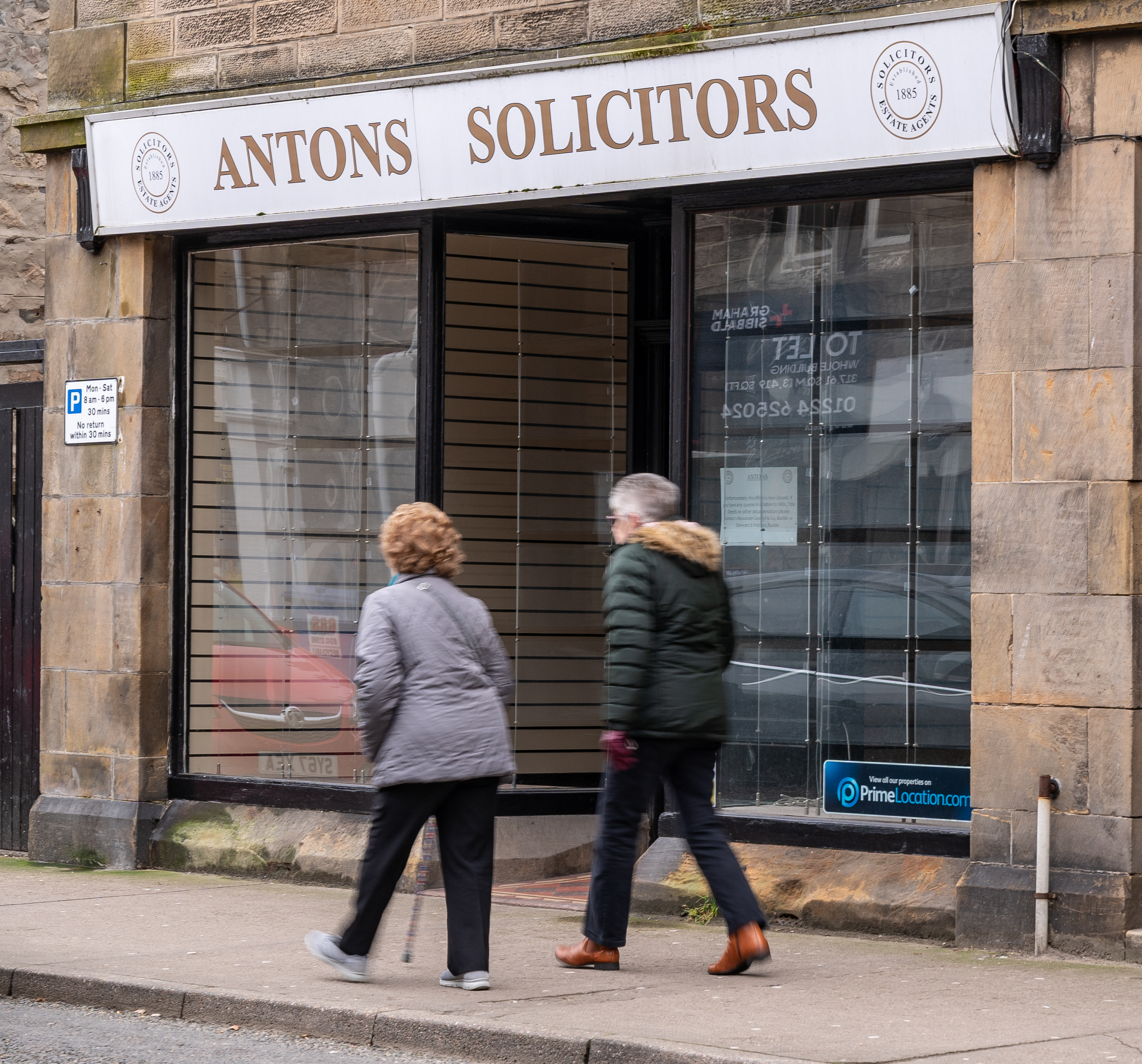 Antons in Buckie closed without warning.