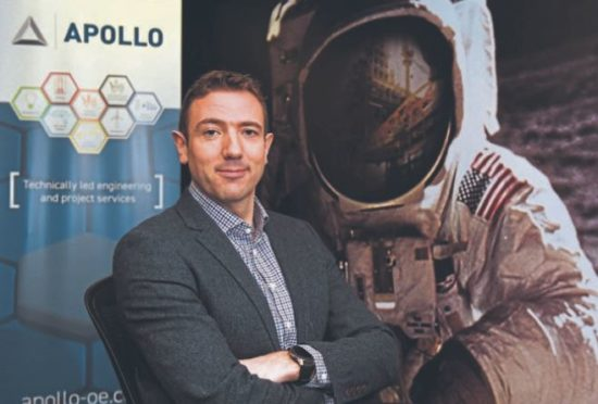 Ryan Menzies, managing director of Apollo Offshore Engineering