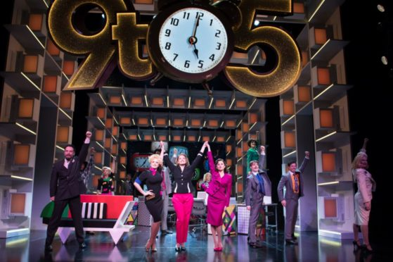 The show features a score by Dolly Parton