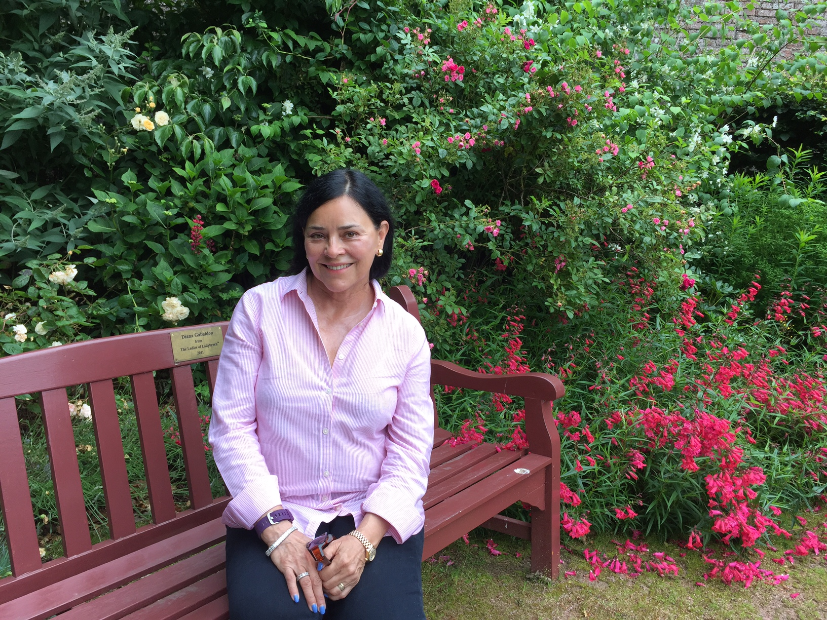 Diana Gabaldon has been recognised for the Outlander effect by VisitScotland.