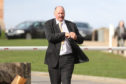 David Carey leaving Inverness Sheriff Court