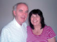 Frank Kopel with wife Amanda