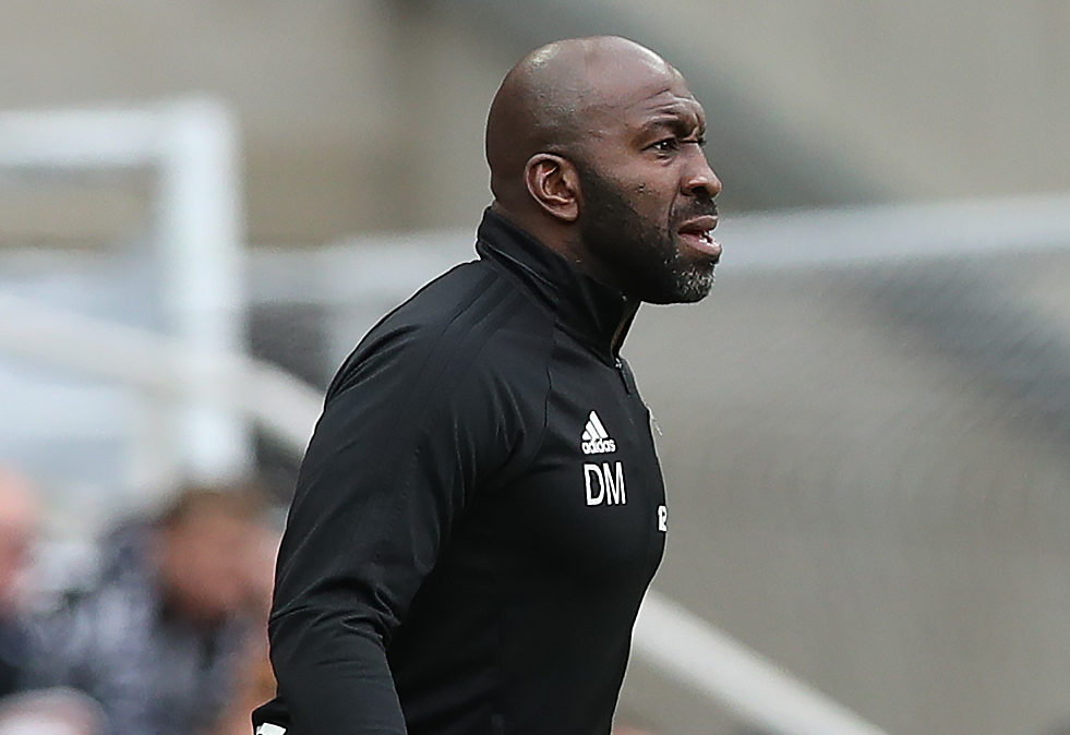 Darren Moore was sacked by West Brom on Saturday.