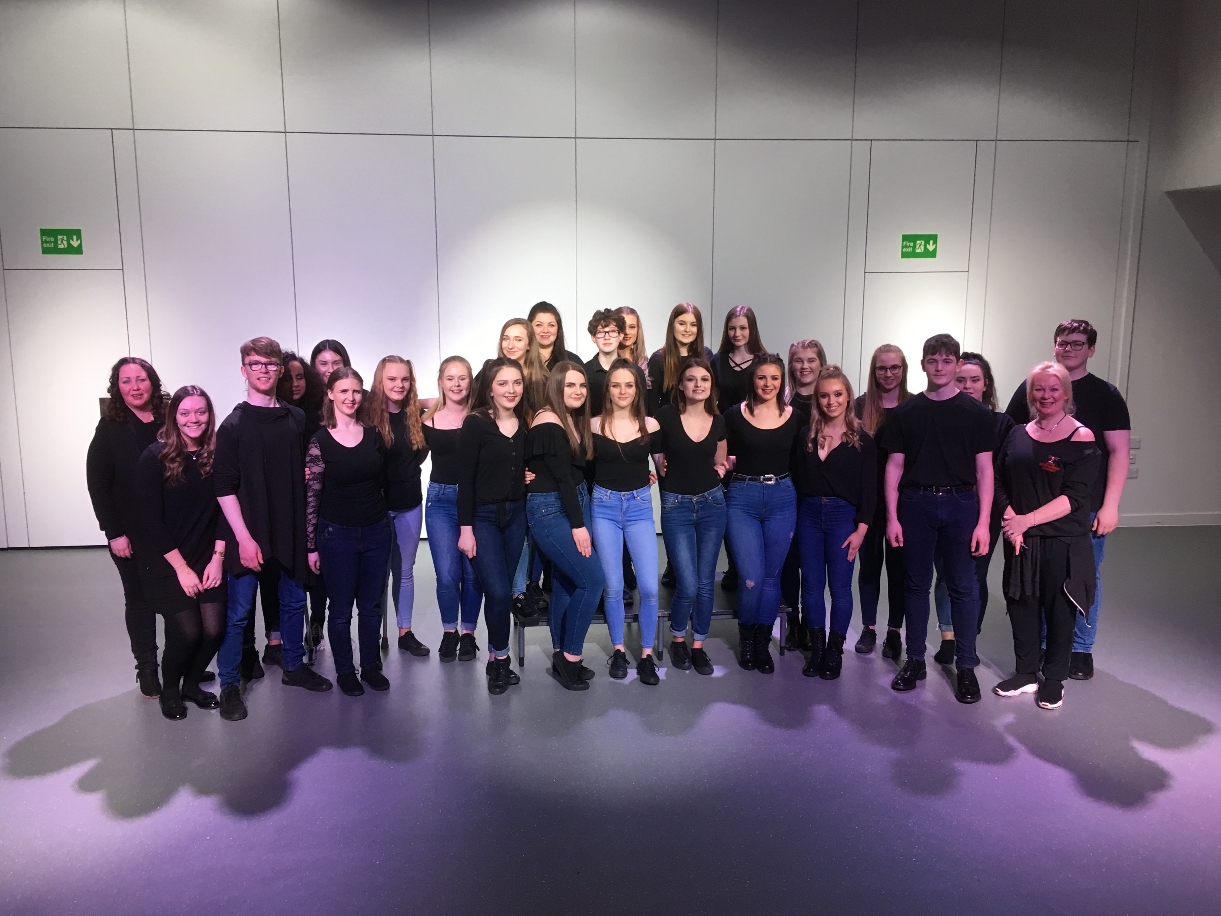 Teenagers from Buckie High School and Elgin High School took part in the production.