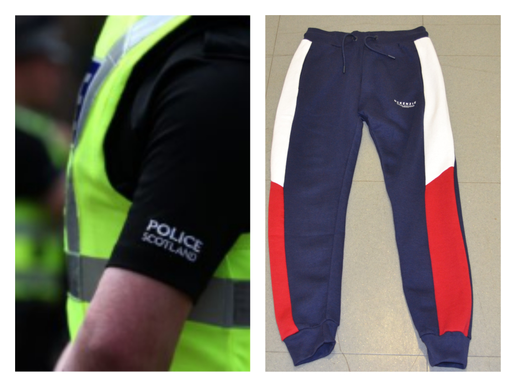 Police released the image of the trousers in the hope they may be recognisable to anyone who was in the area around that time.