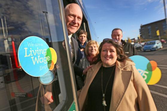 Xplore Dundee's Managing Director Elsie Turbyne joined Joe Fitzpatrick MSP, City Development Convenor Lynn Short and Lynn Cunningham from the Poverty Alliance.