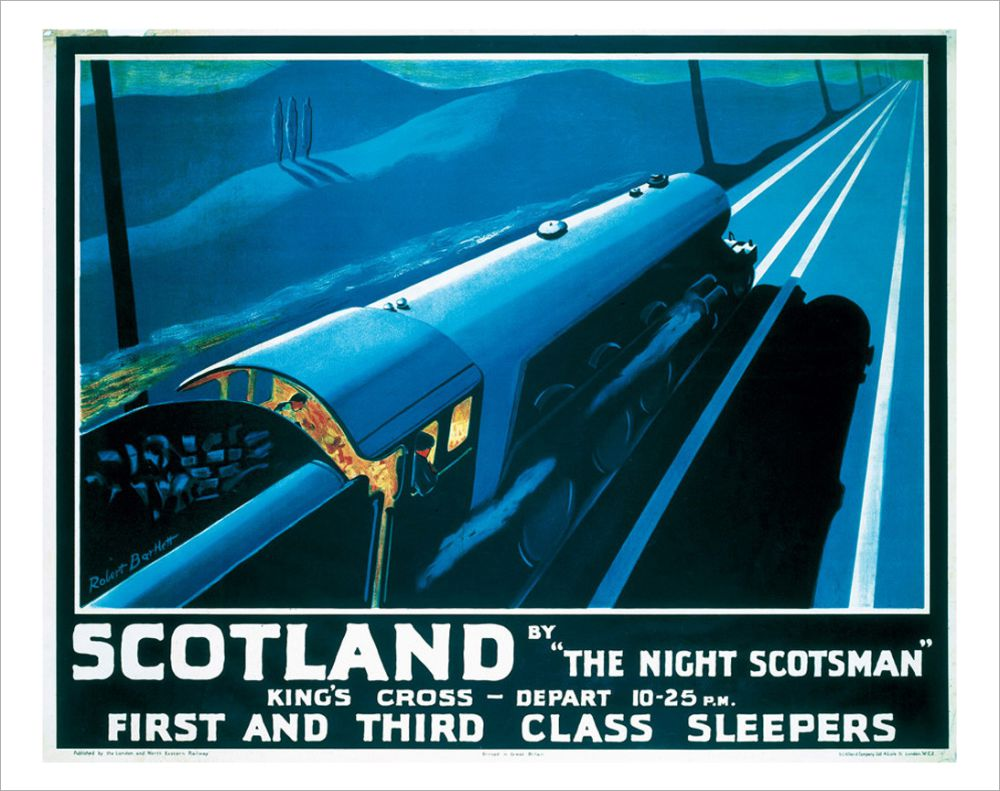 The Night Scotsman was a popular service between London and Aberdeen.
