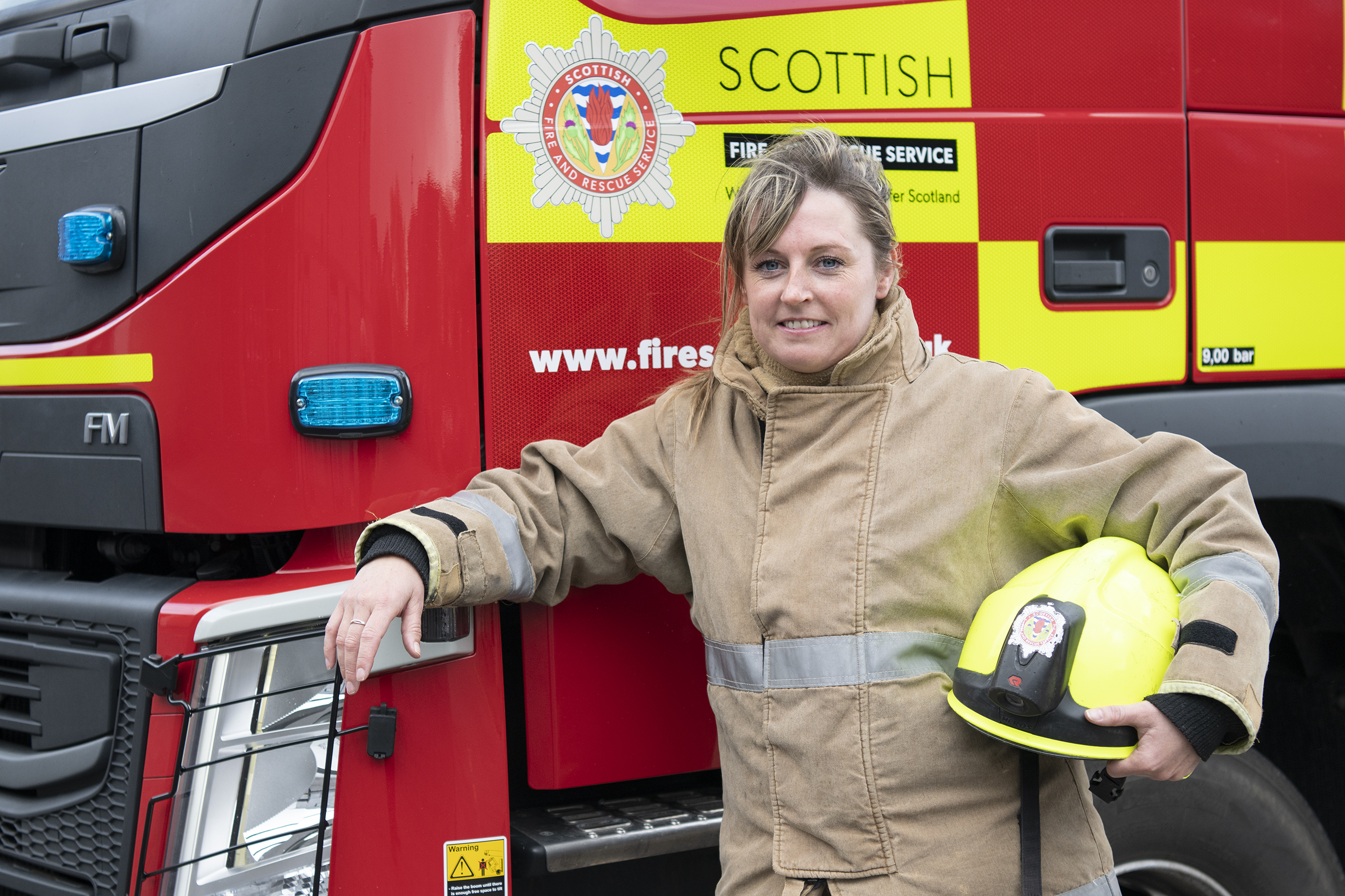 Nicolle Beattie joined the fire service in 2012.