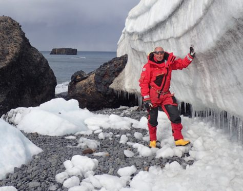 Bill Smith works as a polar guide in both Antarctica and the Arctic
