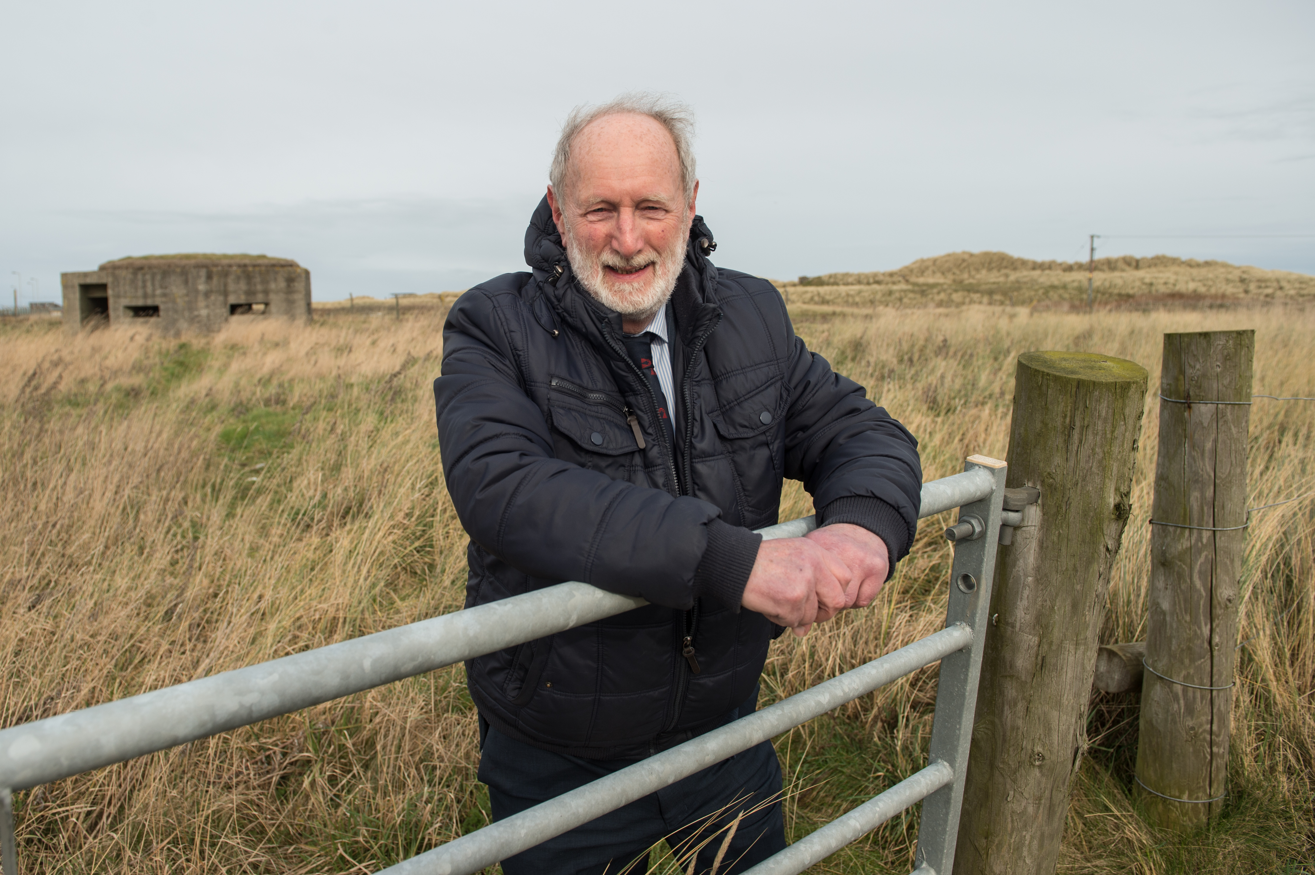 Charles Buchan has welcomed moves to establish a new business group in Fraserburgh. Picture by Jason Hedges.