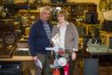 John and Barbara Ferguson Directors of Cluny's Auctions