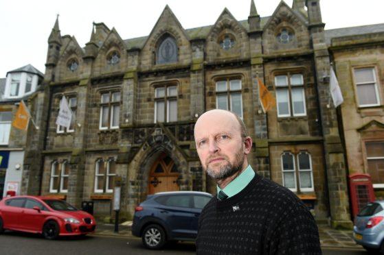 Highland Councillor Matthew Reiss